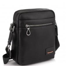 Мужская сумка через плечо в черном цвете Tiding Bag SM8-235A - Royalbag Фото 2