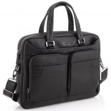 Деловая мужская кожаная сумка для ноутбука Tavinchi TV-1001A - Royalbag