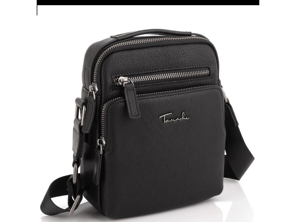 Мужская кожаная сумка через плечо с ручкой Tavinchi TV2605-2A - Royalbag Фото 1