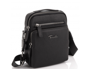 Мужская кожаная сумка через плечо с ручкой Tavinchi TV2605-2A - Royalbag