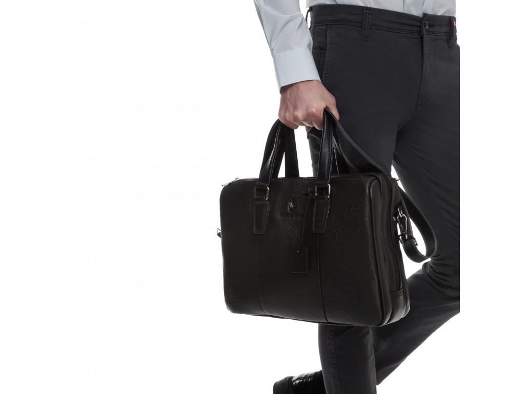 Вместительная кожаная мужская сумка Royal Bag RB50031 - Royalbag