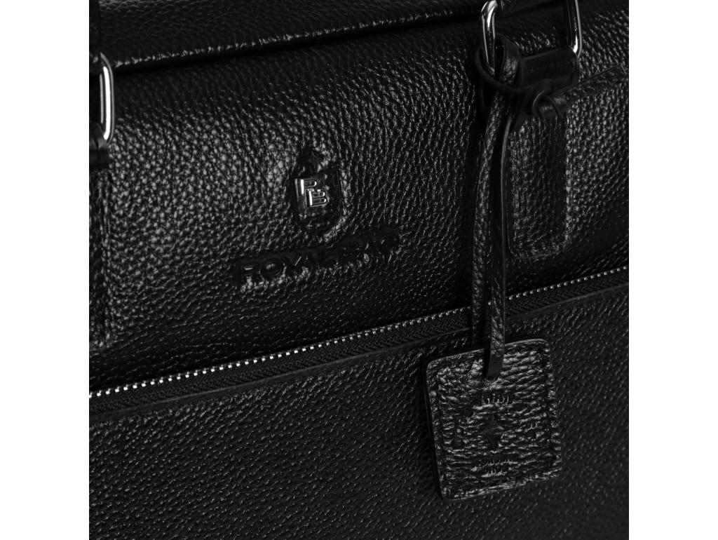 Деловая кожаная сумка-портфель для документов Royal Bag RB50061 - Royalbag