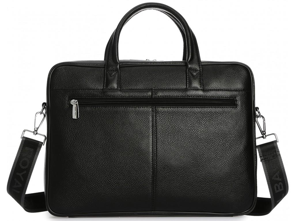 Мужская кожаная деловая сумка-портфель для ноутбука Royal Bag RB50101 - Royalbag