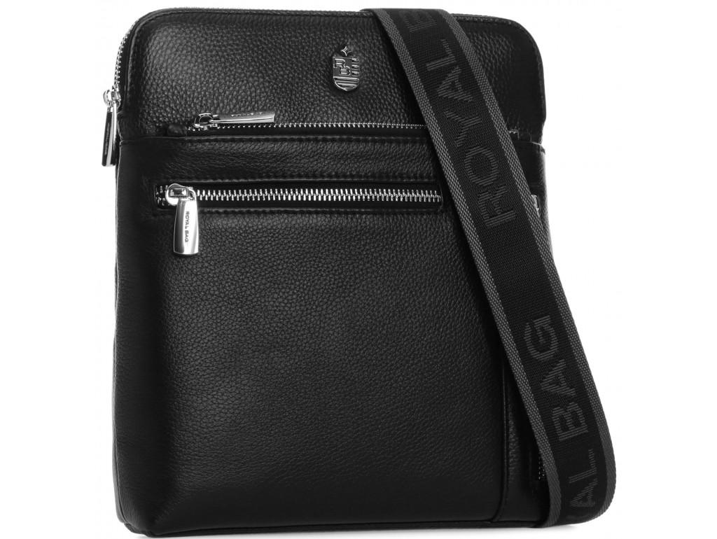 Мужская сумка через плечо из натуральной кожи Royal Bag RB70141 - Royalbag Фото 1
