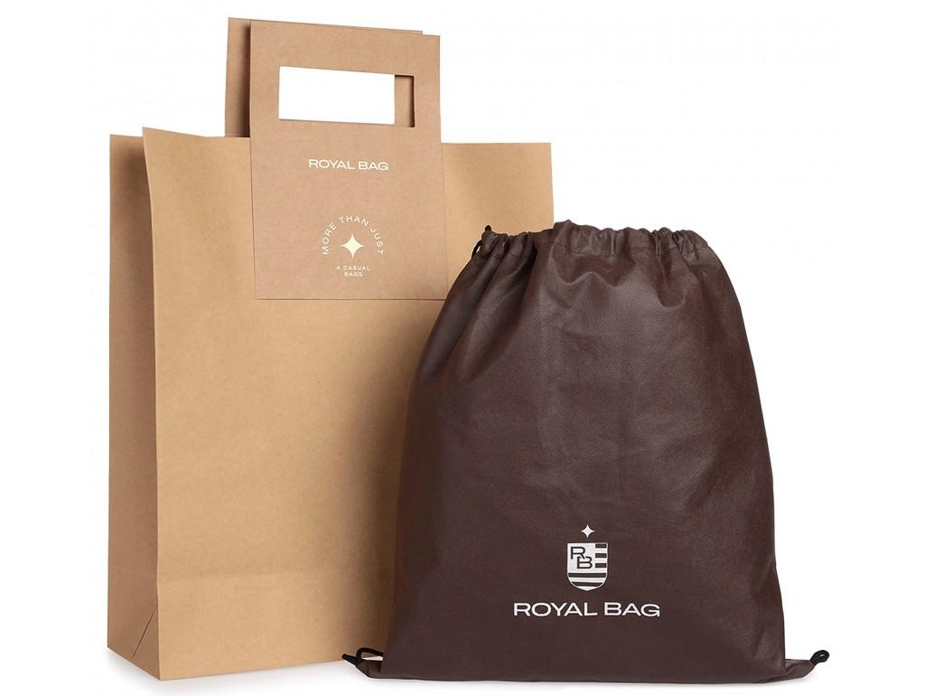 Мужская сумка через плечо из натуральной кожи Royal Bag RB70141