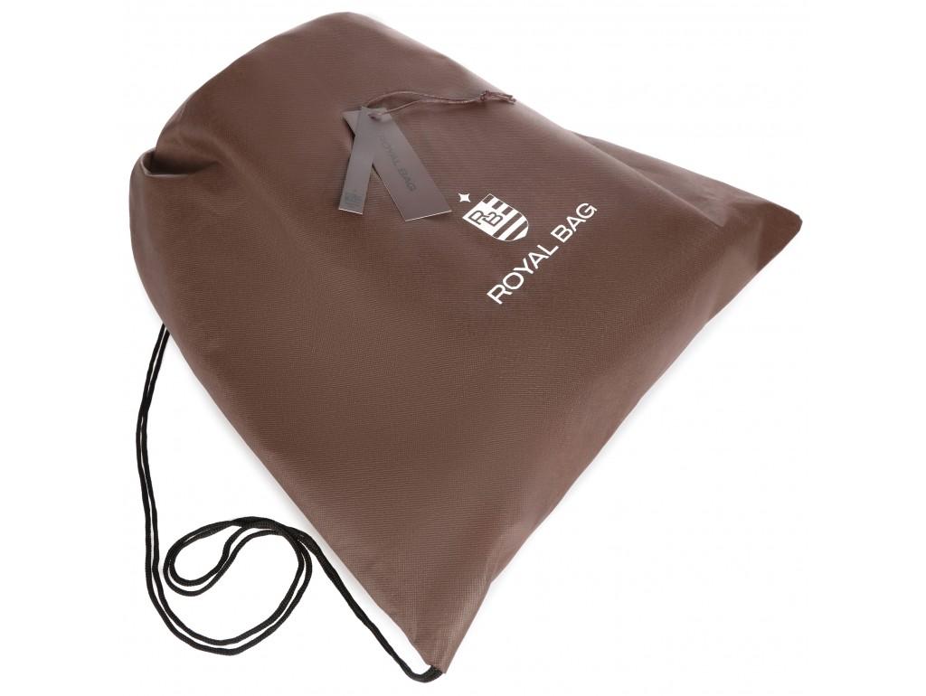 Мужская кожаная сумка через плечо мессенджер Royal Bag RB70151 - Royalbag