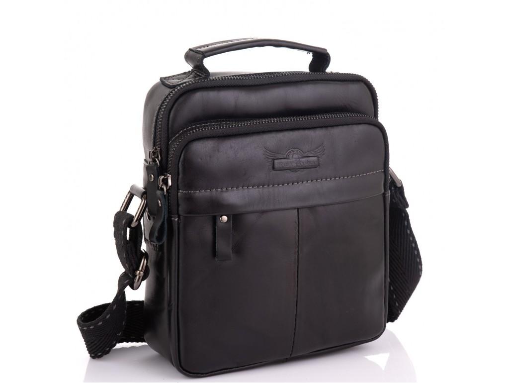 Мужская сумка кожаная через плечо Ruff Ryder RR-1969A - Royalbag Фото 1