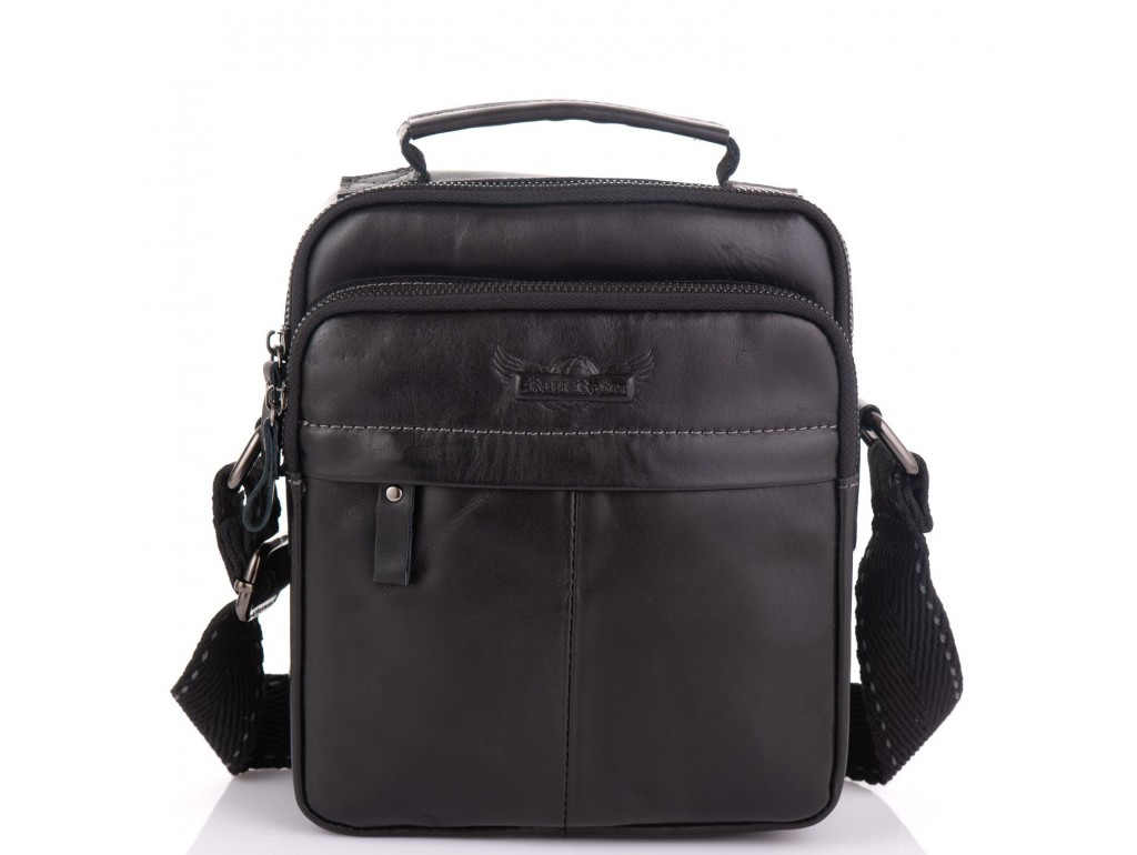 Мужская сумка кожаная через плечо Ruff Ryder RR-1969A - Royalbag