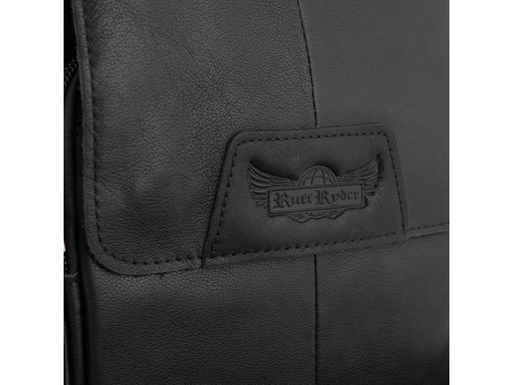Мужская сумка кожаная через плечо Ruff Ryder RR-9033-6A - Royalbag