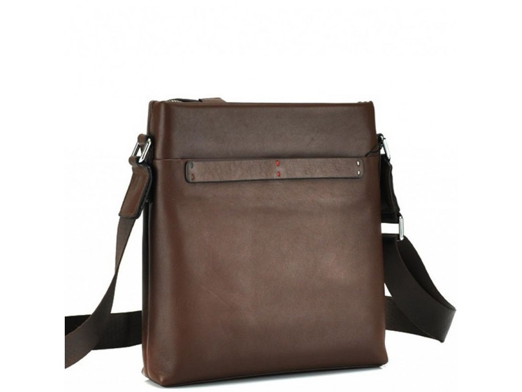 Мессенджер через плечо мужской кожаный Tiding Bag NM17-1018-2C - Royalbag Фото 1
