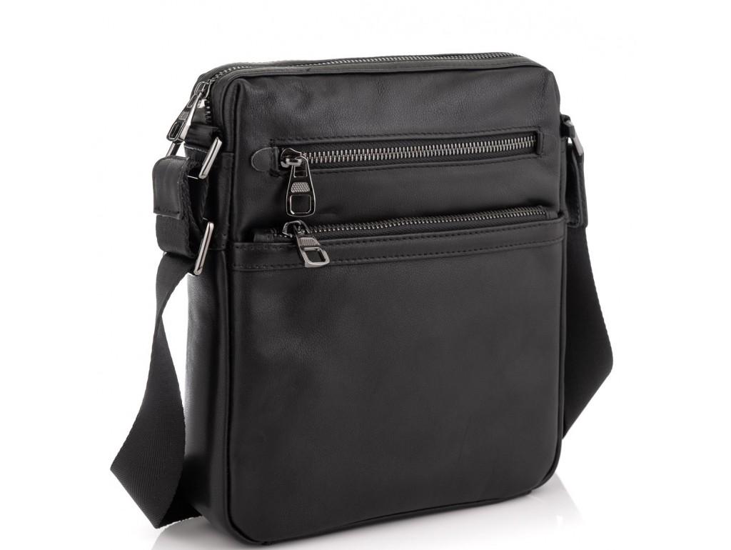 Сумка на плечо мужская кожаная Tiding Bag 9830A - Royalbag Фото 1