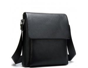 Чоловіча якісна шкіряна сумка через плече Tiding Bag A25-1278A - Royalbag