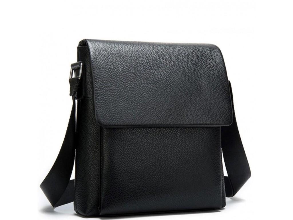 Мужская качественная кожаная сумка через плечо Tiding Bag A25-1278A - Royalbag Фото 1
