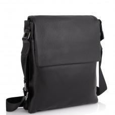 Кожаная сумка через плечо Tiding Bag A25F-8873A - Royalbag Фото 2