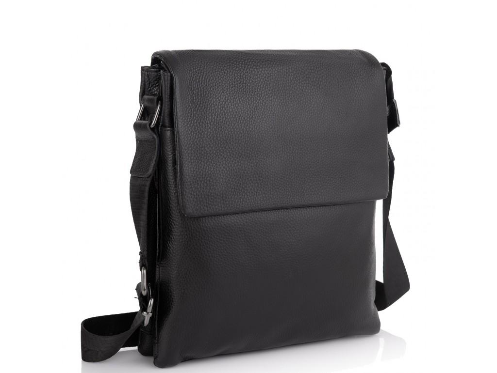 Кожаная сумка через плечо Tiding Bag A25F-8873A - Royalbag Фото 1