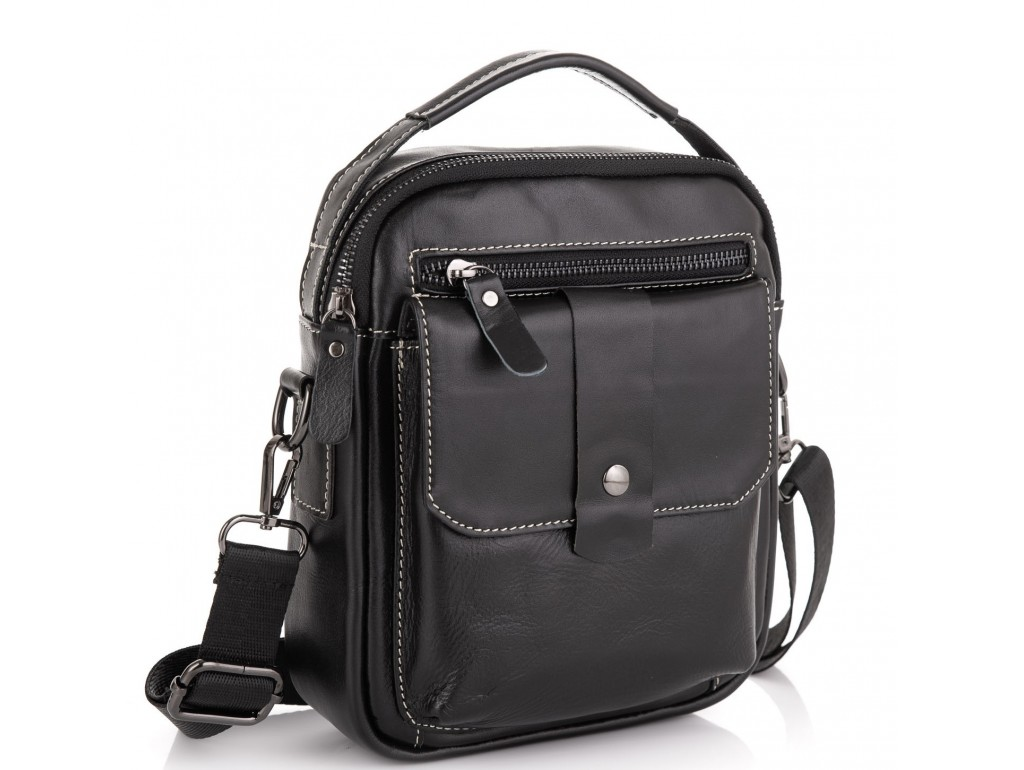 Мужская сумка через плечо Tiding Bag NM20-881A - Royalbag Фото 1