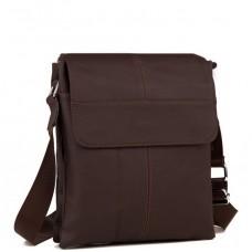 Мессенджер мужской натуральная кожа Tiding Bag A25-064C - Royalbag Фото 2