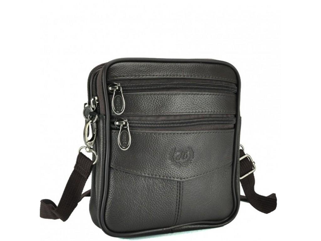 Мессенджер HD Leather NM24-2356C - Royalbag Фото 1