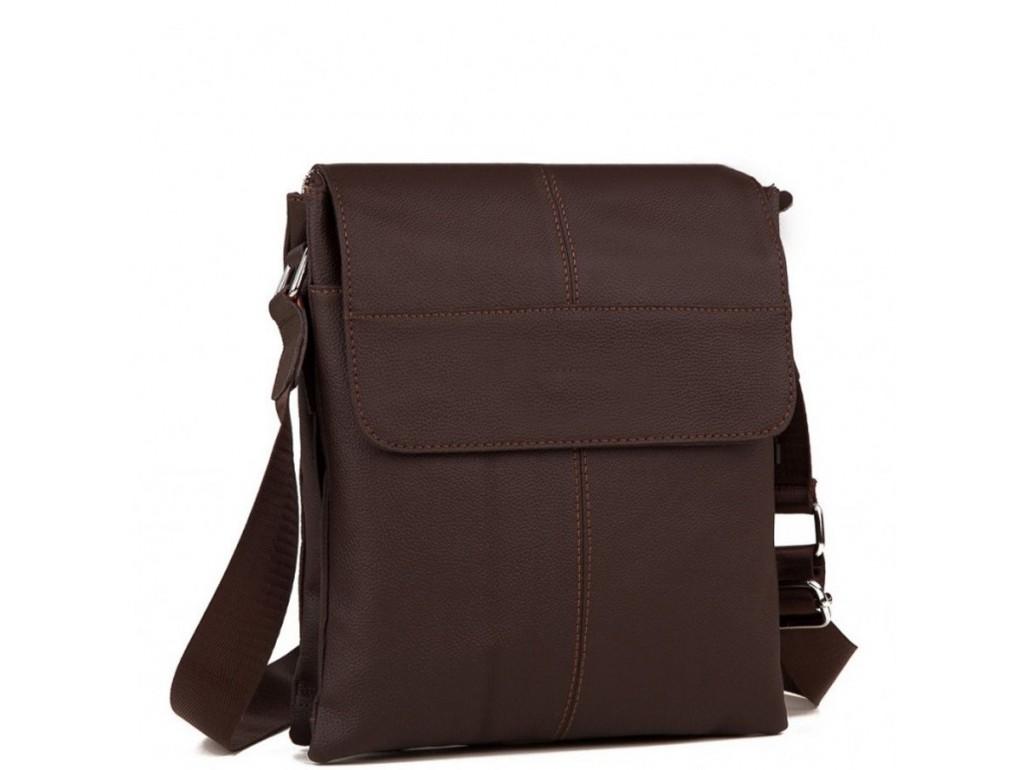 Мессенджер мужской натуральная кожа Tiding Bag A25-064C - Royalbag Фото 1