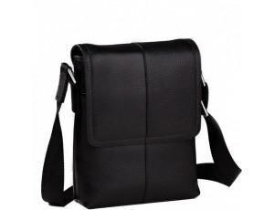 Мужская сумка через плечо кожаная маленькая Tiding Bag M1506A - Royalbag