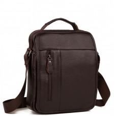 Вместительная сумка через плечо из натуральной кожи Tiding Bag A25-2158C - Royalbag Фото 2