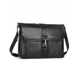 Мужская сумка-мессенджер с кожаным ремнем Blamont P531711 - Royalbag