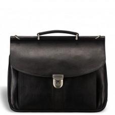 Мужской кожаный портфель Blamont Bn017A - Royalbag Фото 2