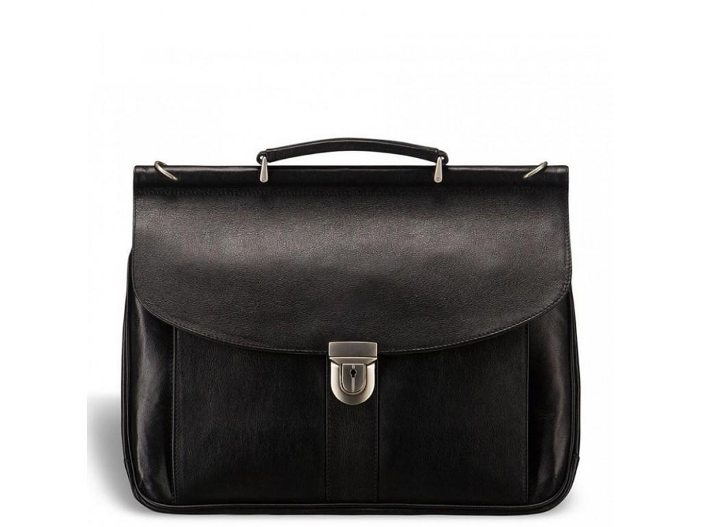 Мужской кожаный портфель Blamont Bn017A - Royalbag Фото 1