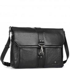 Чоловіча сумка-месенджер зі шкіряним ременем Blamont P531711 - Royalbag
