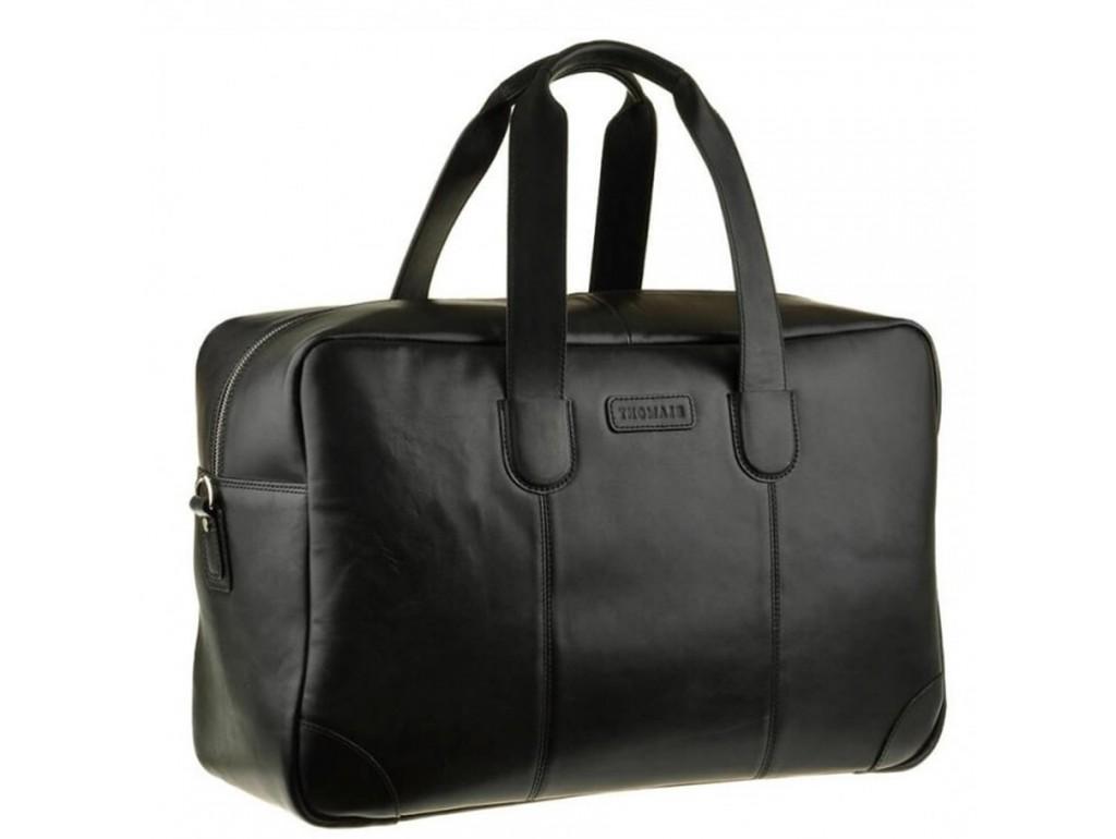 Дорожная мужская кожаная сумка с длиными ручками Blamont Bn028A - Royalbag Фото 1