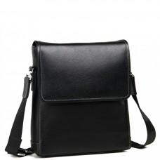 Кожаная наплечная мужская сумка Tiding Bag M685-2A - Royalbag Фото 2