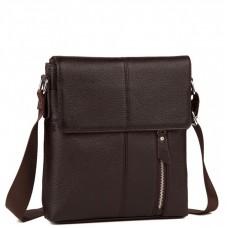 Мужская кожаная сумка на каждый день Tiding Bag A25-238C - Royalbag Фото 2