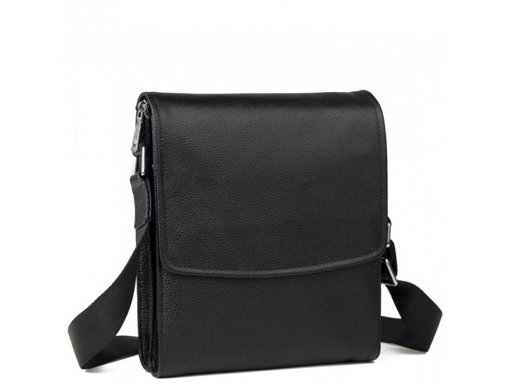 Каркасная мужская кожаная сумка через плечо Tiding Bag M9833A - Royalbag Фото 1