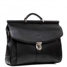 Мужской кожаный портфель Blamont Bn017A-1 - Royalbag Фото 2
