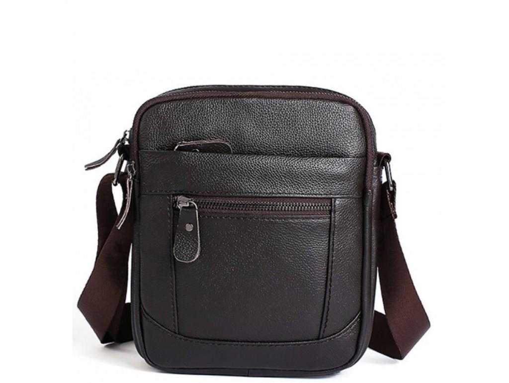 Мессенджер через плечо Tiding Bag A25-223C - Royalbag Фото 1