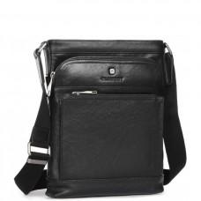Элитная сумка-мессенджер мужская кожаная Blamont P7877721 - Royalbag Фото 2