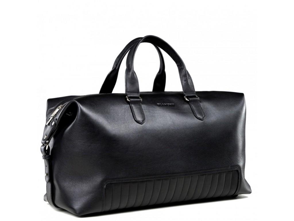 Элитная мужская дорожная сумка из итальянской кожи Blamont Bn105A - Royalbag Фото 1