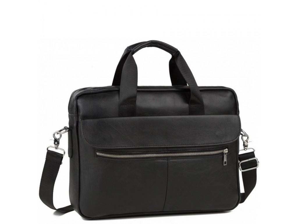 Каркасная мужская сумка из кожи Bexhill Bx1127A - Royalbag Фото 1