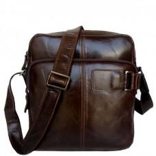Мужская сумка-мессенджер из натуральной кожи Tiding Bag 6012 - Royalbag Фото 2