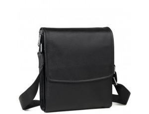 Каркасная мужская кожаная сумка через плечо Tiding Bag M9833A - Royalbag