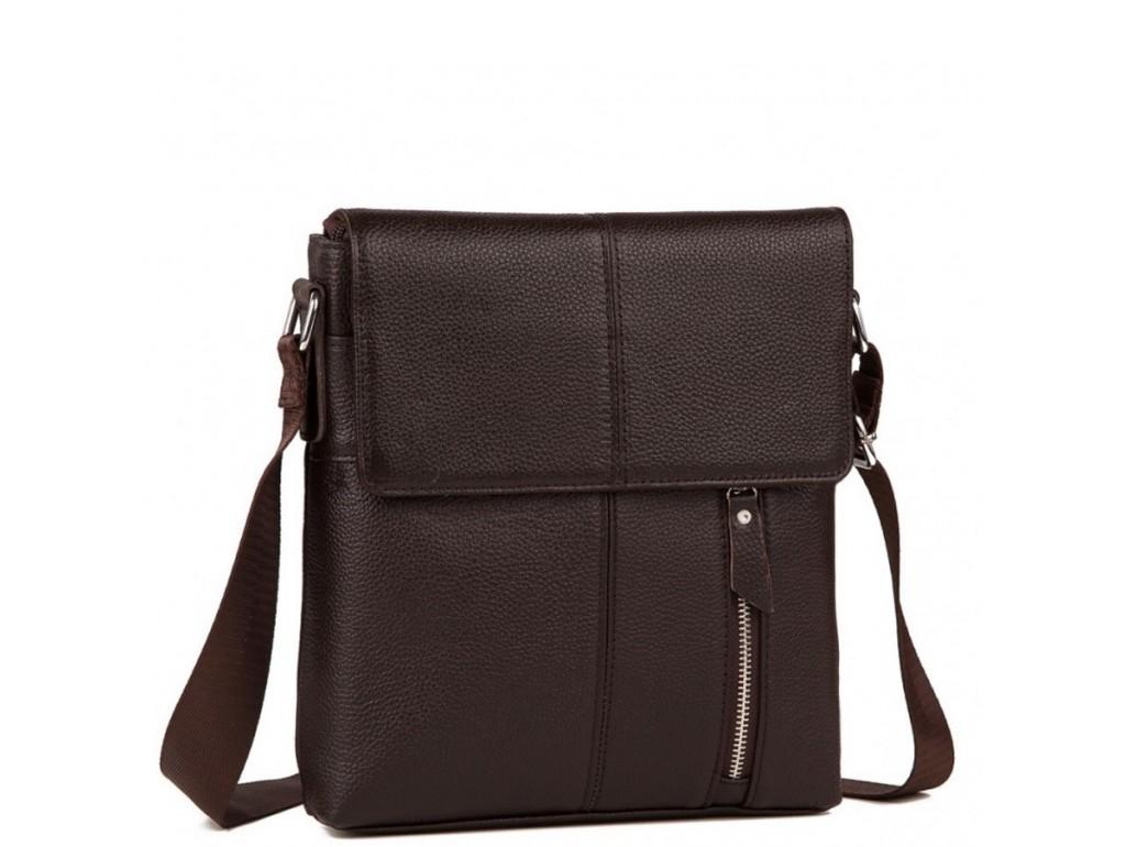 Мужская кожаная сумка на каждый день Tiding Bag A25-238C - Royalbag Фото 1