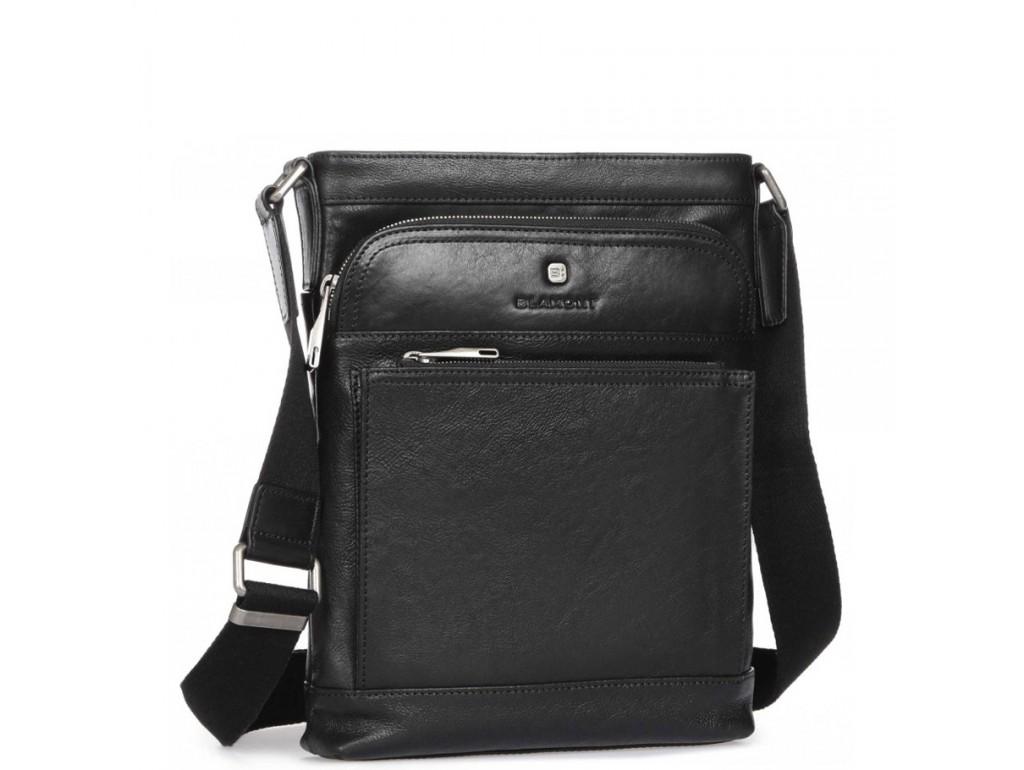 Элитная сумка-мессенджер мужская кожаная Blamont P7877721 - Royalbag Фото 1