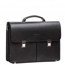 Діловий чоловічий  шкіряний портфель два відділа Blamont Bn063A - Royalbag Фото 2