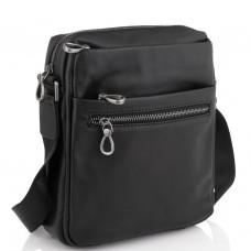 Сумка мужская кожаная черная Tiding Bag 1007A - Royalbag Фото 2