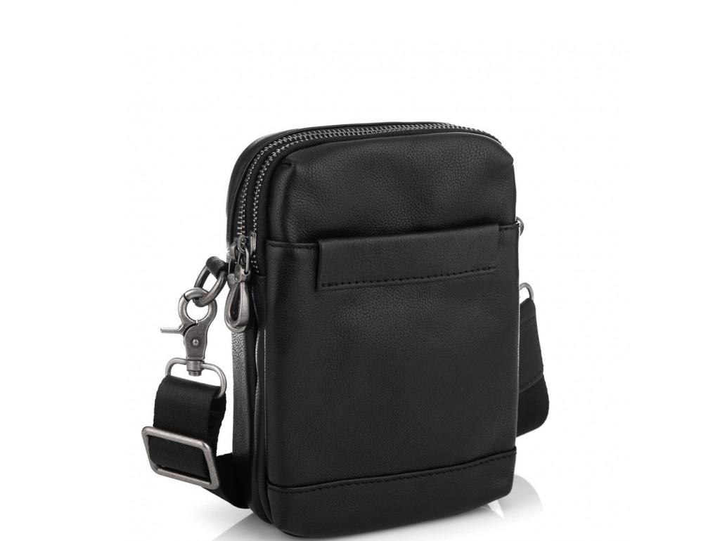 Кожаная маленькая сумка через плечо Tiding Bag 1631A - Royalbag Фото 1