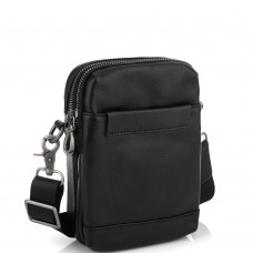 Кожаная маленькая сумка через плечо Tiding Bag 1631A - Royalbag Фото 2