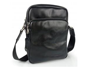 Сумка чоловіча шкіряна чорна Tiding Bag 168A - Royalbag