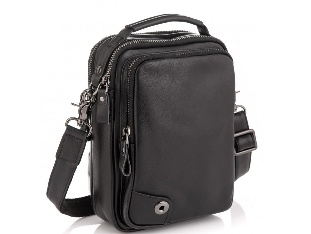 Сумка через плечо мужская кожаная Tiding Bag 6009A - Royalbag Фото 1