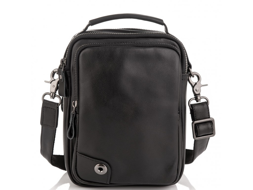Сумка через плечо мужская кожаная Tiding Bag 6009A - Royalbag