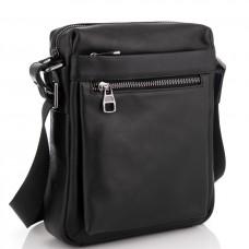 Мужская сумка через плечо из натуральной кожи Tiding Bag 6026A - Royalbag Фото 2